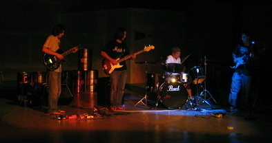 The Band at Bavarian Barbarian Brewing