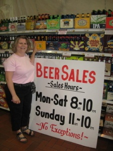 Beer Sales in a PA Grocery