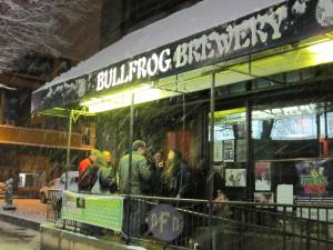 Outside the Bullfrog, March 6, 2011